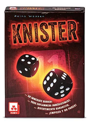 NSV - 4054 - KNISTER - International - Würfelspiel