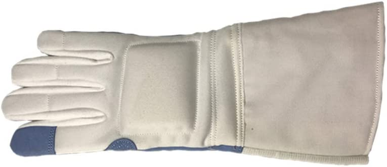 XIURAB Fencing Training Gloves Competition Long Gifts Beach Mall Foil Fe Epee