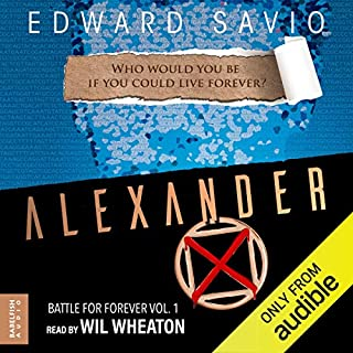 Alexander X audiobook cover art