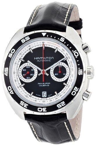 Hamilton H35756735 - Orologio da polso da uomo, cinturino in pelle