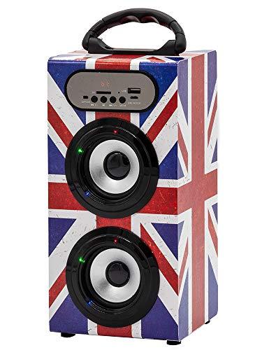 petit un compact Teknofun – 811273 – Haut-parleur Bluetooth tour – Grange UK