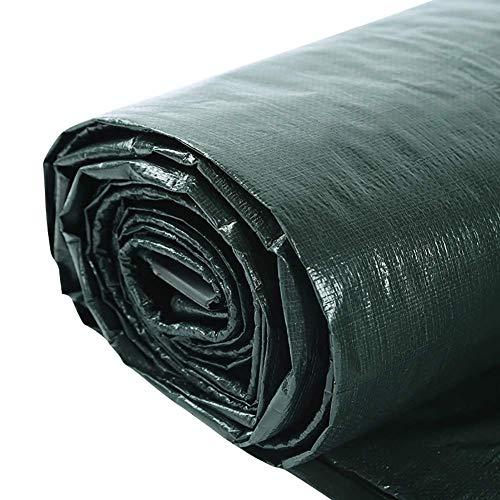 Plane wasserdicht, Mehrzweck-Planen für den Innen- und Außenbereich, Zeltanhänger mit Metallösen FENGMING (Farbe : Grün, größe : 5x7M)