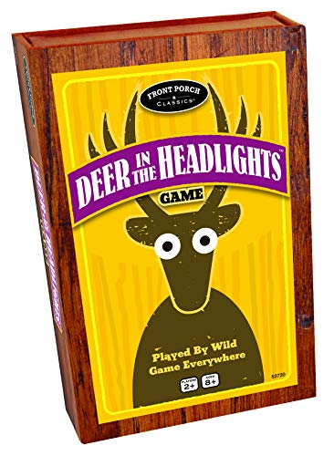 Deer In The Headlights The Card & Dice Game played by Wild Game Everywhere for Ages 5 and Up