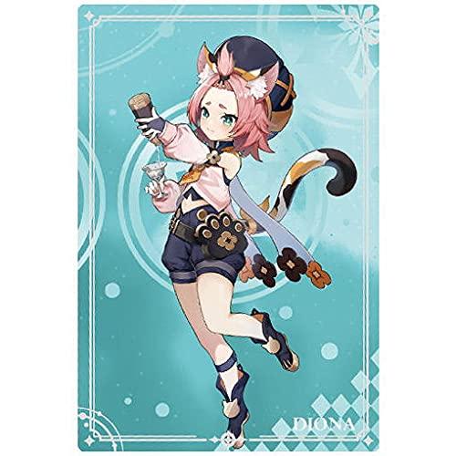 原神[Genshin] ウエハース [10.ディオナ (N)](単品)※カードのみです。お菓子は付属しません。