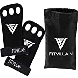 Crossfit & Gymnastic Hand Grips - 3-hole Leather Wod Palm Guard Gloves Callus