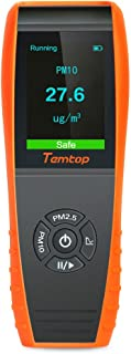Temtop P600 Air Quality Laser Particle Detector Professional Meter Accurate Testing for PM2.5/PM10 TFT Color LCD Display