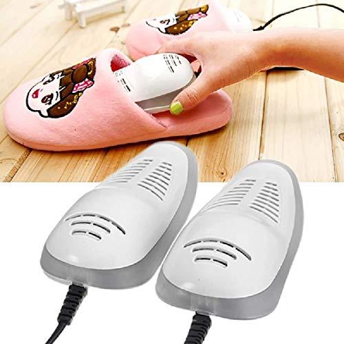 FGDSA Secador de Zapatos de esterilización multifunción, Calentador de pies, deshumidificador deshumidificador, para Zapatos de Invierno, secador de Zapatos, Color Blanco