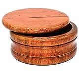 Genuine Honey Mango Wood Shaving Soap Bowl from Parker Safety Razor