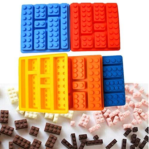 Xmwm 1 UNIDS Lego Tipo Forma Muffin Dulce Caramelo