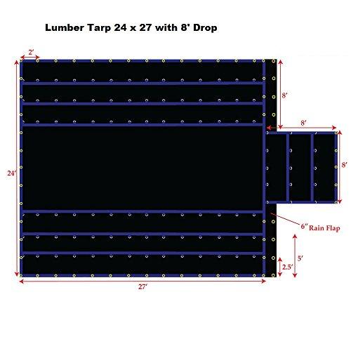 Buy Bargain 24' x 27' Xtarps Truck Tarp - Lumber Tarp - Heavy Duty, Industrial Grade