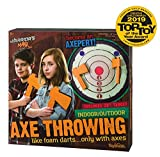 Toysmith Warrior's Mark Indoor/Outdoor Foam Axe Throwing Game - Winner Creative Child Magazine 2019 Toy of The Year