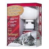 Felisept Home Comfort - Das Original - Entspannungsmittel Starter Set (Diffusor + Flakon) - Mit natürlicher Katzenminze - Wohlbefinden & Entspannung für Katzen