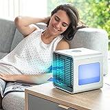 Mini-condizionatore portatile con porta USB e funzione 3in 1,climatizzatore, umidificatore e...