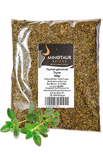 Minotaur Spices | Τomillo seco | 2 X 500g (1 Kg)