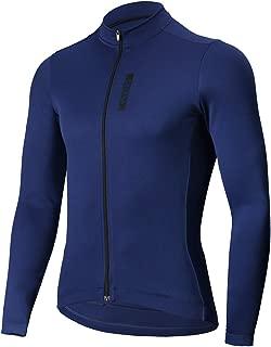 CATENA Men's Cycling Jersey Long Sleeve Shirt Running Top Moisture Wicking Workout Sports T-Shirt