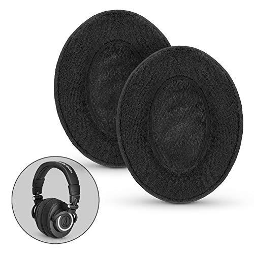 Almohadillas de auriculares de repuesto de espuma con efecto memoria de Brainwavz, adecuadas para muchos auriculares como AKG, HifiMan, ATH, Philips, Fostex, Grado o Sony