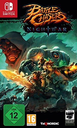 THQ Battle Chasers: Nightwar Básico Nintendo Switch Plurilingüe vídeo - Juego (Nintendo Switch, RPG (juego de rol), T (Teen))