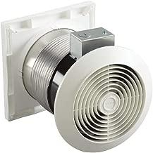 Broan-Nutone 512M Through-the-Wall Ventilation Fan, White Square Exhaust Fan, 6.0 Sones, 70 CFM, 6