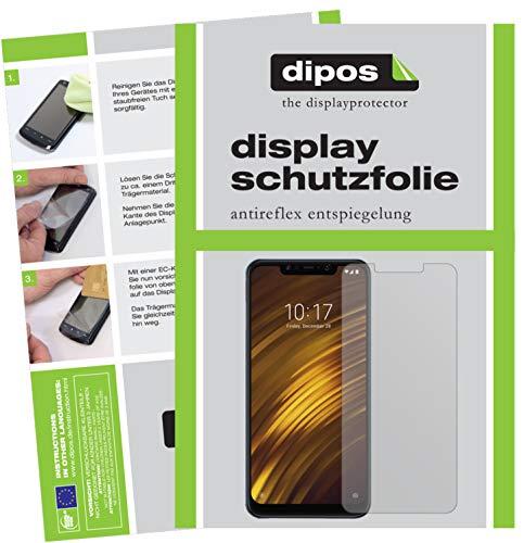 dipos I 6X Schutzfolie matt kompatibel mit Xiaomi Pocophone F1 Folie Bildschirmschutzfolie