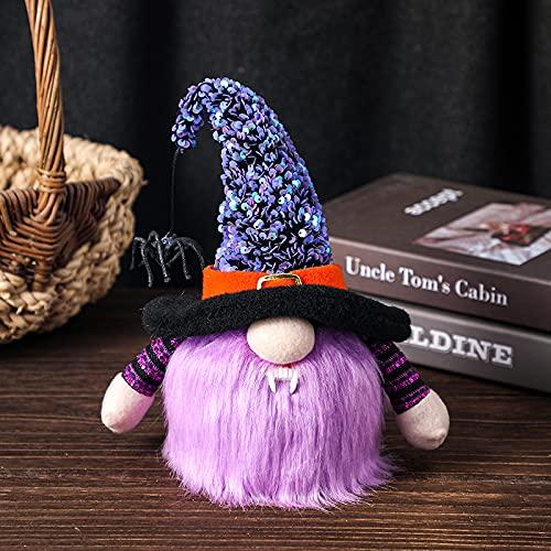 KOUQI La Araña Enana Resplandece Muñeca Sin Rostro Púrpura