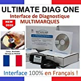 ULTIMATE DIAG ONE - Interface de diagnostic MULTIMARQUES – Version CD-ROM - Valise diagnostique...