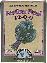 Down To Earth Organic Feather Meal Fertilizer Mix 12-0-0, 5 lb