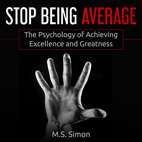 Stop Being Average audiobook cover art