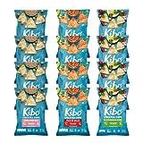 Kibo Chickpea Chips - High Protein/Fiber, Plant-Based, Cert. Gluten Free, Non-GMO, Vegan, Kosher, 3...