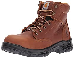 "Carhartt Men's CMZ6340 Made In USA 6"" CompToe Work Boot"