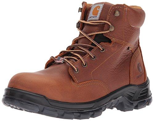 "Carhartt Men's CMZ6340 Made in USA 6"" Comptoe Work Boot, Brown, 11.5 M US"