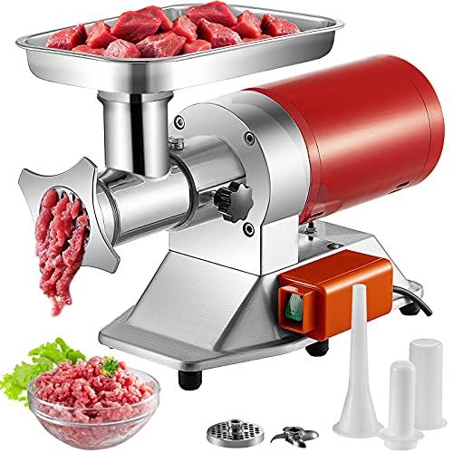 VEVOR Electric Meat Grinder, 661 Lbs/Hour1100 W Meat Grinder Machine, 1.5 HP Electric Meat Mincer with 2 Grinding Plates, Sausage Kit Set Meat Grinder...