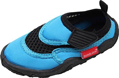 Zunblock, Scarpette da Mare con Protezione UV, Turchese (Turquoise), 24-25