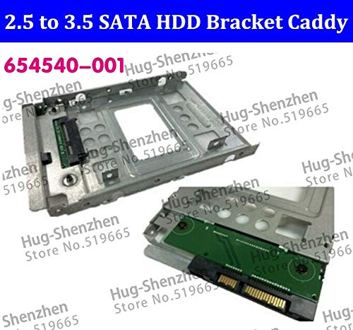 """ShineBear New 2.5"""" SSD to 3.5"""" SATA Hard Disk Drive HDD Adapter Caddy Tray CAGE Hot Swp Plug for All Mac Pro Machine - (Cable Length: 1PCS)"""