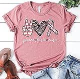 Peace Love Cure Pink Ribbon Breast Cancer Awareness Tshirt, Peace Shirt, Star Wars Tee