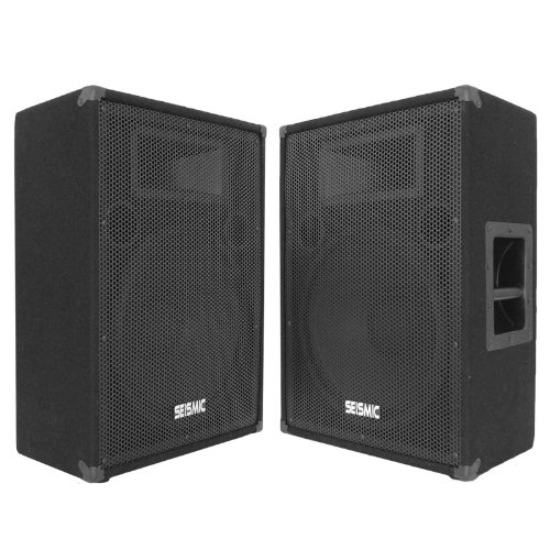 Check Out This Seismic Audio - FL-15MP (Pair) - Pro Audio PA/DJ 15 Monitors - 100% Birch Plywood  -...