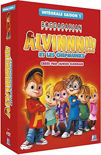 Es Unico Alvin and The Chipmunks Costume Red Hoodie Sweatshirt for Men Halloween