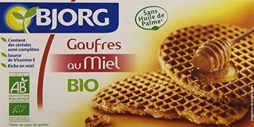Bjorg 6 Gaufres au Miel Bio 175 g (Épicerie)