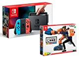 Nintendo Switch rojo/azul neón 32 GB Pack + Nintendo Labo – Kit robot