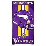 McArthur - Toalla de playa, diseño de equipo de fútbol americano Minnesota Vikings