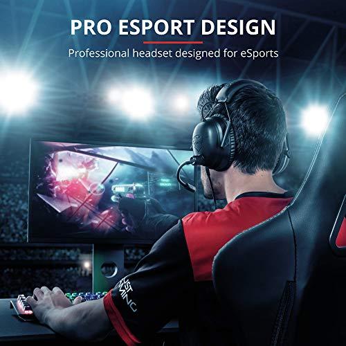Trust GXT 444 Wayman Cuffie Gaming PRO Sport Elettronici per PS4, Xbox One, PC, Laptop e Nintendo Switch, Nero