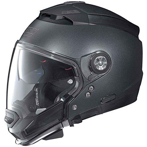 Nolan N44Evo Special casco de moto Modular en Lexan con sistema N-Com negro grafito mate