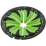 Dye Erwachsene Paintball Zubehör Rotor Quick Feed, Schwarz/Grün, One Size