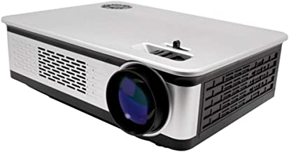 LUOJIE Proyector, proyector portátil Office Ultra HD Soporte ...