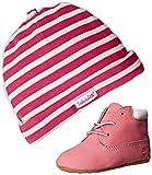 Timberland Crib Bootie with hat, Scarpe prima infanzia e cappello ,...