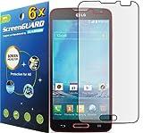 6x LG Optimus L90 D405 D415 (T-Mobile) Premium Clear LCD Screen Protector Guard Shield Cover Film Kit (GUARMOR Brand)