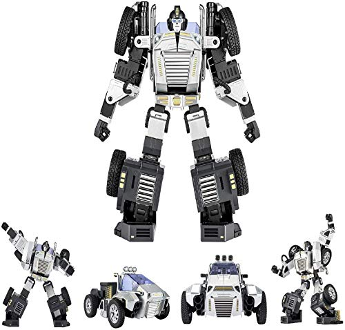 Robosen T9 - Advanced Programmable and Convertible Robot - STEM: Fun, Educational with Voice and App controls