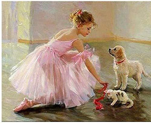 Rompecabezas clásico de 2000 piezas de papel para adultos, niños, rompecabezas, vestido de baile rosa, arte de niña, bricolaje, juego de ocio, juguete divertido, adecuado para amigos de la familia, 1