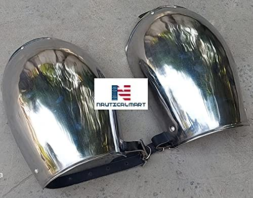All stores are sold famous Nautical-Mart Medieval Steel Armour Pauldron Shoulder