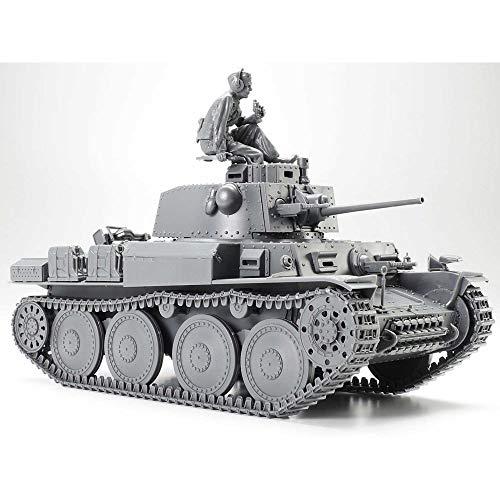 TAMIYA 300035369 1:35 Deutscher Panzerkampfwagen 38(t) Ausführung E/F (1), originalgetreue Nachbildung, Modellbau, Plastik Bausatz, Basteln, Hobby, Kleben, Plastikbausatz, Zusammenbauen, unlackiert