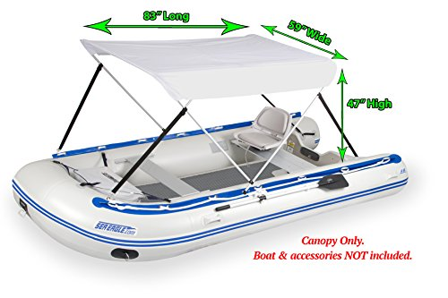 Inflatable Bimini/Canopy -Hardware included